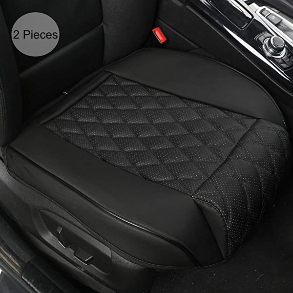HONDA CIVIC Front Pair of Luxury KNIGHTSBRIDGE LEATHER LOOK Car Seat Covers