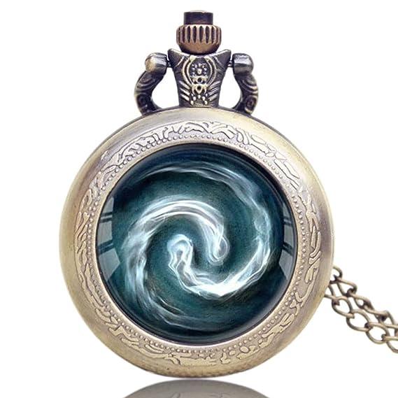 Reloj de Bolsillo Moderno, Avatar, diseño de último Airbender Airbending, Reloj de Bolsillo para Hombre, con cúpula de Cristal, Regalo - Jlyshop: Amazon.es: ...