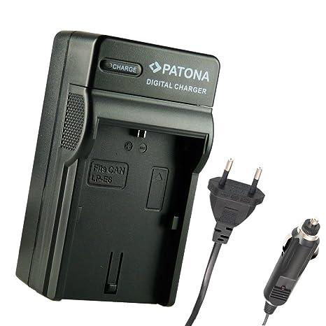 3en1 Cargador PATONA compatible con LP-E6 Canon EOS 5D Mark ...