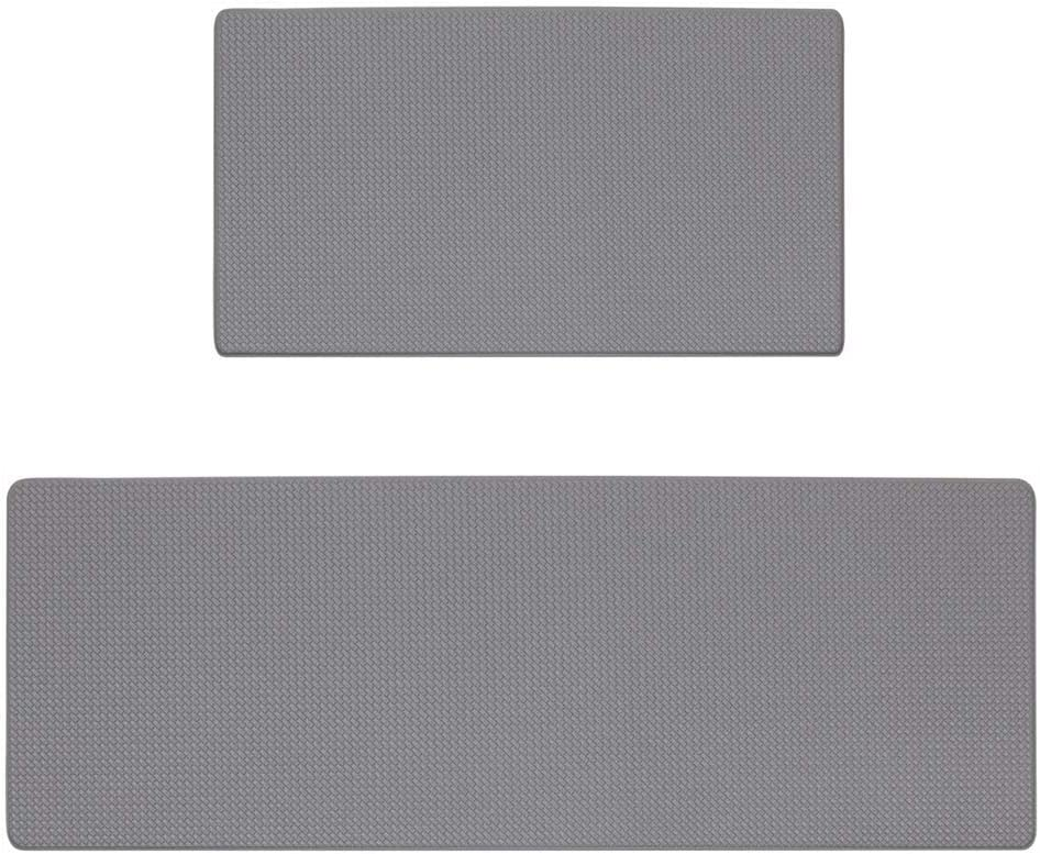 Kitchen Rugs and Mats, Cushioned Anti Fatigue Comfort Mat, Thicken Waterproof Non Skid Standing Kitchen Rug Set, 47.2