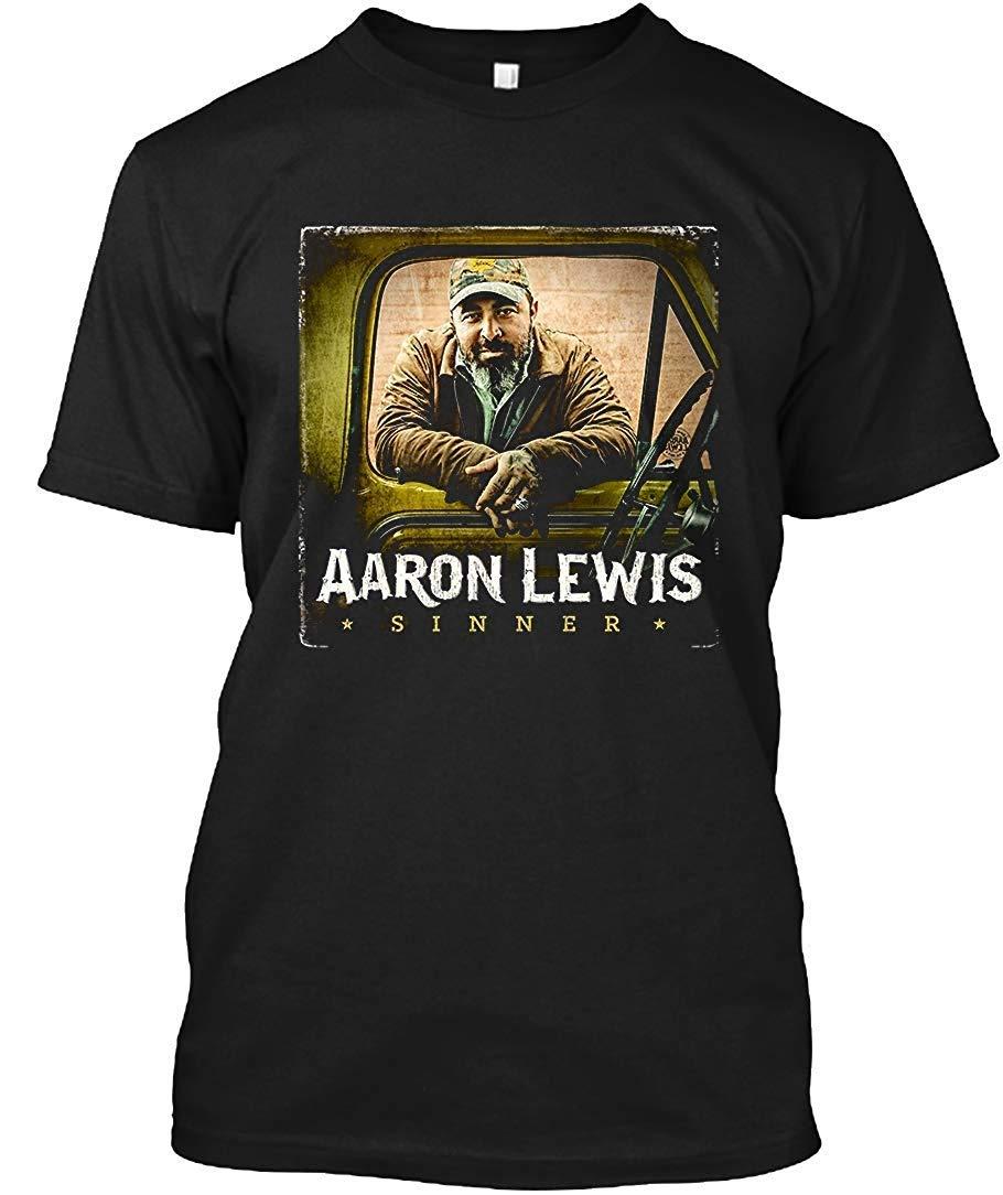 Aaron Lewis Sinner Tour 2019 Tvri 86 T Shirt For