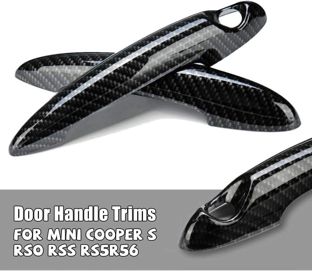 2 Pcs Car Door Handle Cover Trims Decor For BMW MINI Cooper S R50 R53 R56