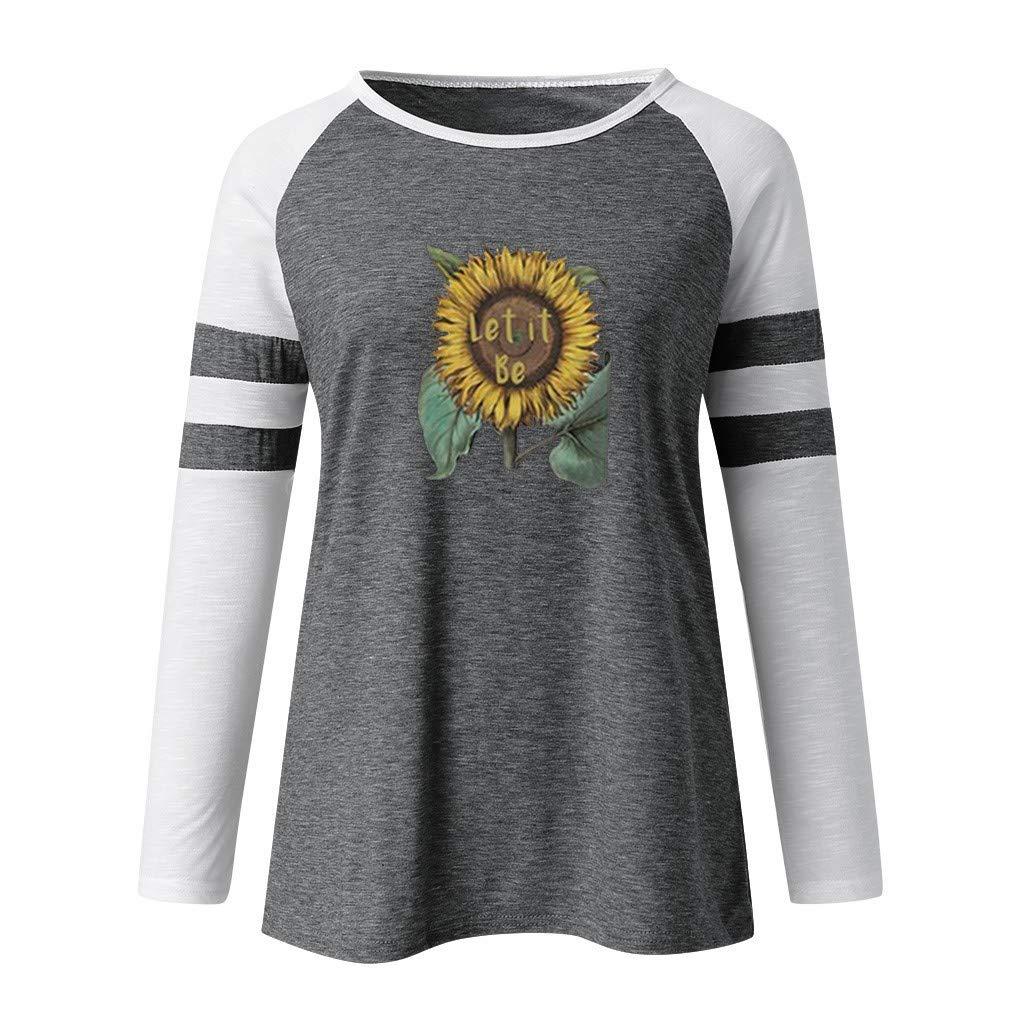Amazon.com: Sanyyanlsy - Camiseta de manga larga para mujer ...