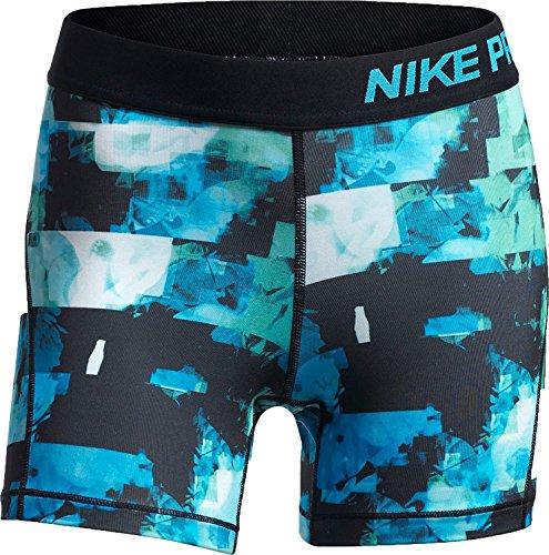 NIKE Pro Girl's Training Shorts XL, Dri Fit, Light Blue Fury by NIKE