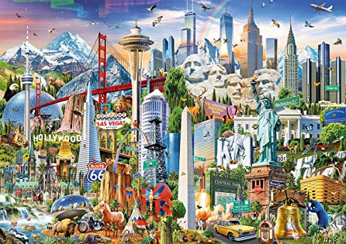 Educa Puzzle Glue - Educa 176701500Symbols of North America