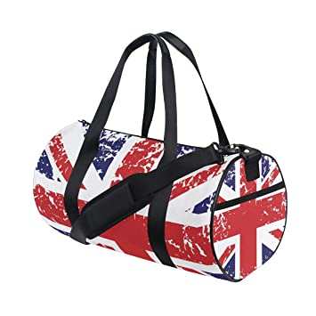39ed25c5025 Amazon.com   Travel Gym Sports Bag Dance Travel Weekender Duffel Bag  Luggage Bag with Shoe Compartment   Sports Duffels