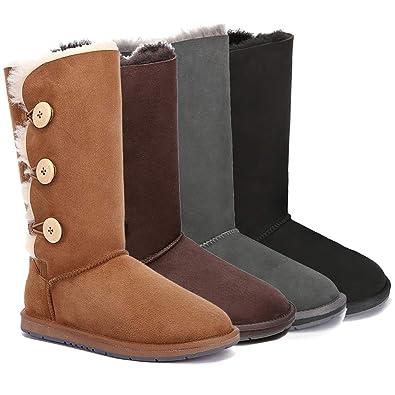 1377fcf8e73 UGG Boots Classic Tall in 3 Button - 100% Premium Australian ...