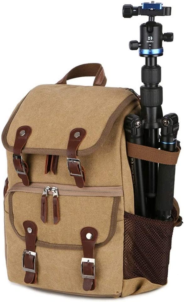 MDYYD Camera Backpack Camera Backpack Waterproof Photography Bag Large Capacity Multifunctional Camera Backpack Travel Hiking Camera Bag Color : Gray, Size : 28x42x16cm