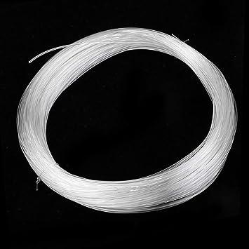 Tenlacum 33m Clear Fishing Line Monofilament Mono Nylon Fishing Line Thread for Boat Fishing Cast Fishing Hook Tying 0.7-1.5mm