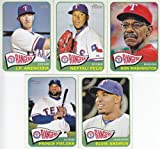 Texas Rangers 2014 Topps Heritage MLB Baseball Complete Mint Basic 14 Card Team Set with Prince Fielder Plus
