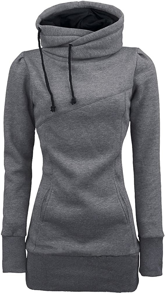 Women Sweater,Neartime Loose Pullover Long Sleeve Outfit Warm Sweatshirt (S, Gray)