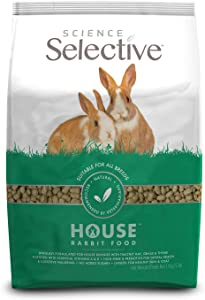 Supreme Petfoods Science Selective House Rabbit Food, Brown