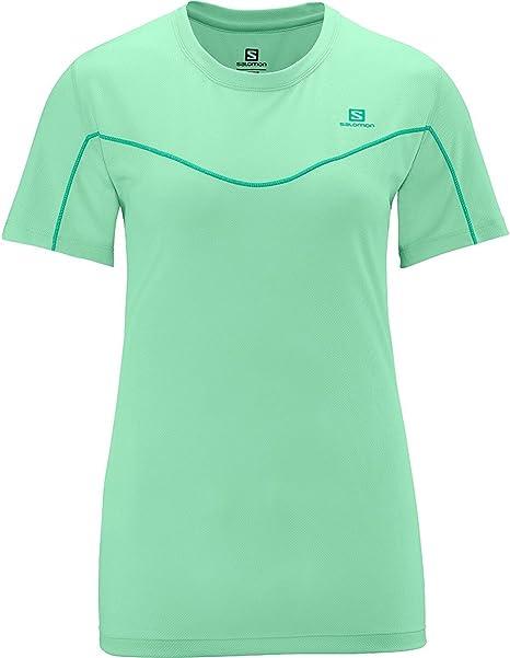 Salomon Camiseta Mc Stroll Tee W Plastic-X: Amazon.es: Ropa y accesorios