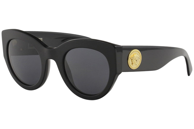 Versace 0VE4353 Gafas de sol, Black, 51 para Mujer: Amazon ...