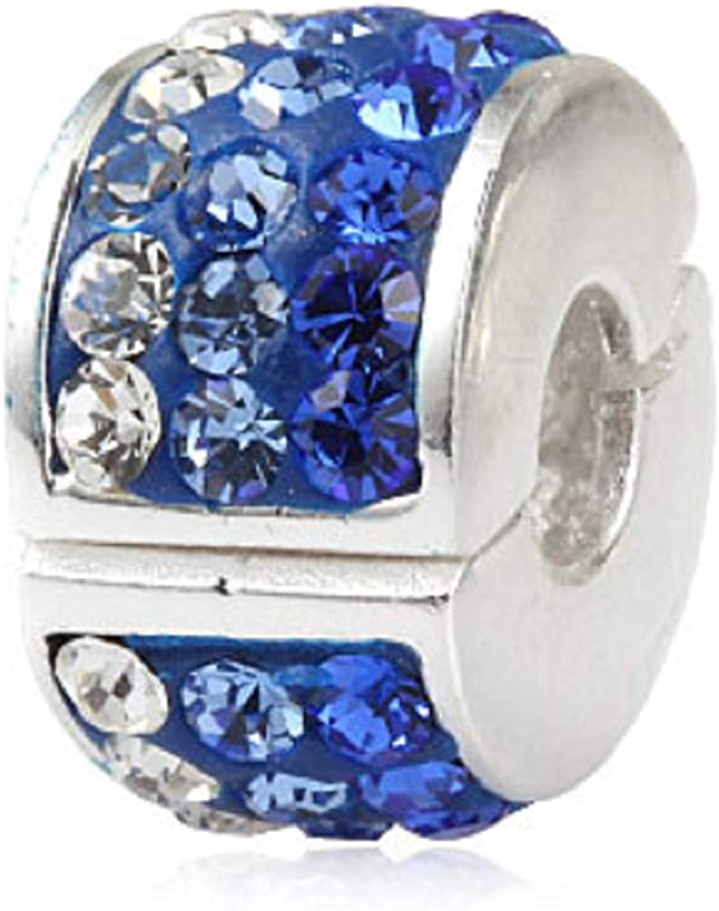 Clear Crystal Clip Charms...