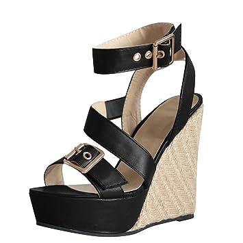 Sandales 41 Chaussures compensées Femme comparez et achetez
