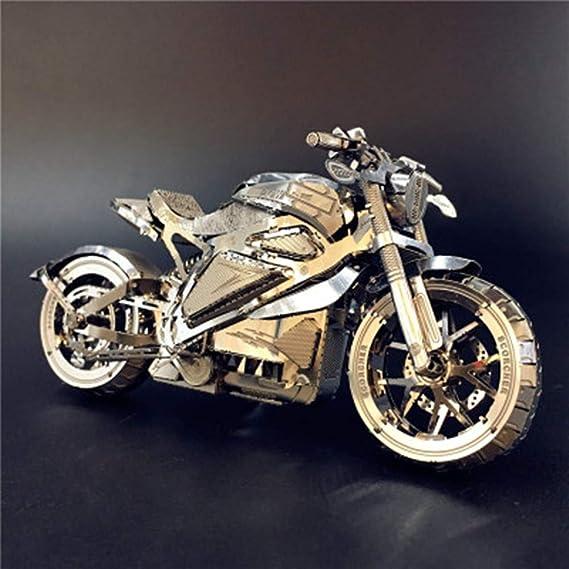 3D Metal Puzzle Dodge/Tomahawk Concept Motocicleta Modelo DIY 3D ...