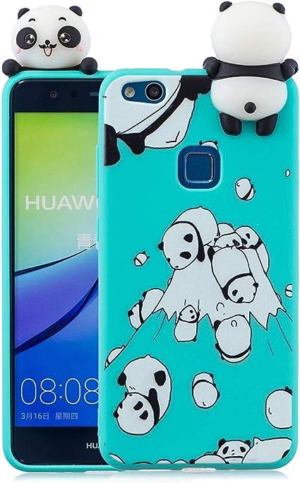 EuCase Cover Huawei P10 Lite, Cover Huawei P10 Lite Silicone 3D ...
