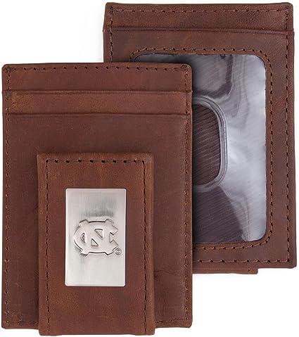 NCAA Rico Industries  Laser Engraved Front Pocket Wallet North Carolina Tar Heels