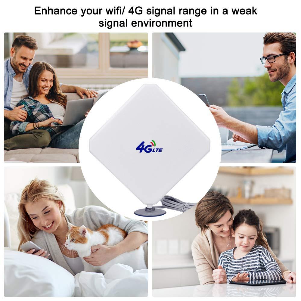 B528 B310 B315 E5186 B715 4G LTE Antenna SMA Antenna Wifi 35dBi Dual Mimo Amplificata Outdoor Antenna per 4G Router Wireless Bluetooth wireless IP e telecamera di sicurezza Huawei B525 B618