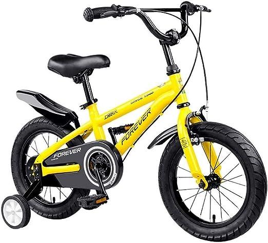 DYFYMXBicicleta niño Bicicleta de Pedal Bicicletas for niños Bicicletas for Pedales for niños y niñas 12