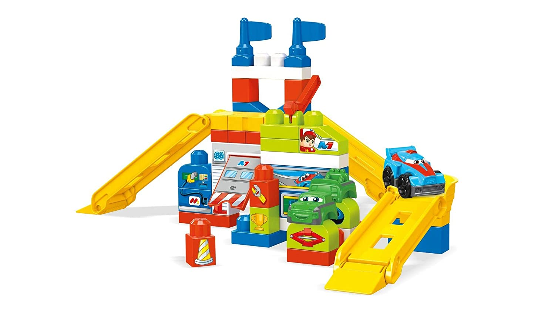 Mega Bloks Raceway Garage Building Set Mattel FVJ029964