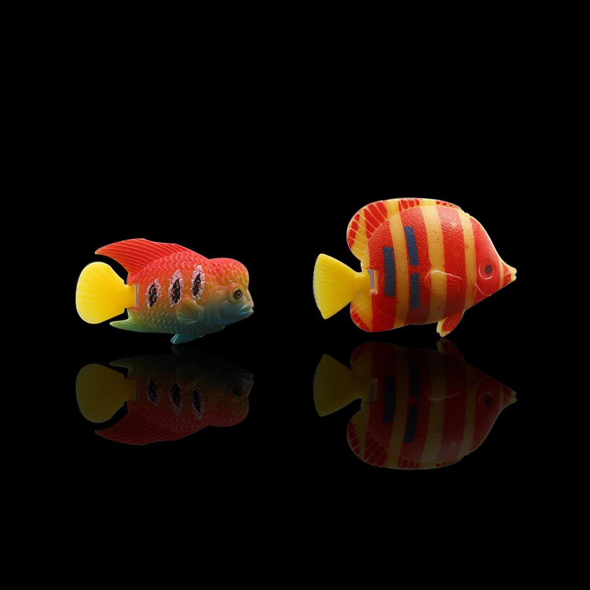 WINOMO: 10 peces artificiales para decorar acuarios, se desplazan ...