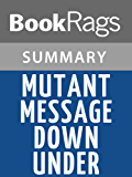Summary & Study Guide Mutant Message Down Under by Marlo Morgan