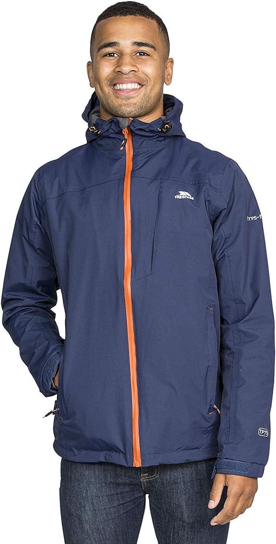 Trespass Mens Hilman II Waterproof Rain//Outdoor Jacket with Hood