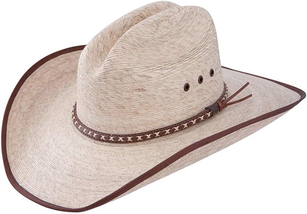 Mexican Palm Straw Cowboy Hat Resistol Jason Aldean Hicktown