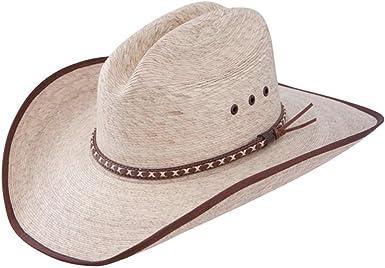 Resistol Jason Aldean Georgia Boy Mexican Palm Straw Cowboy Hat