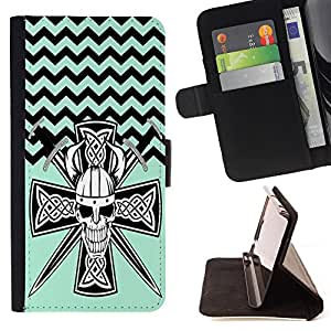 Dragon Case - FOR Samsung Galaxy A3 - Waiting for you - Caja de la carpeta del caso en folio de cuero del tir¨®n de la cubierta protectora Shell