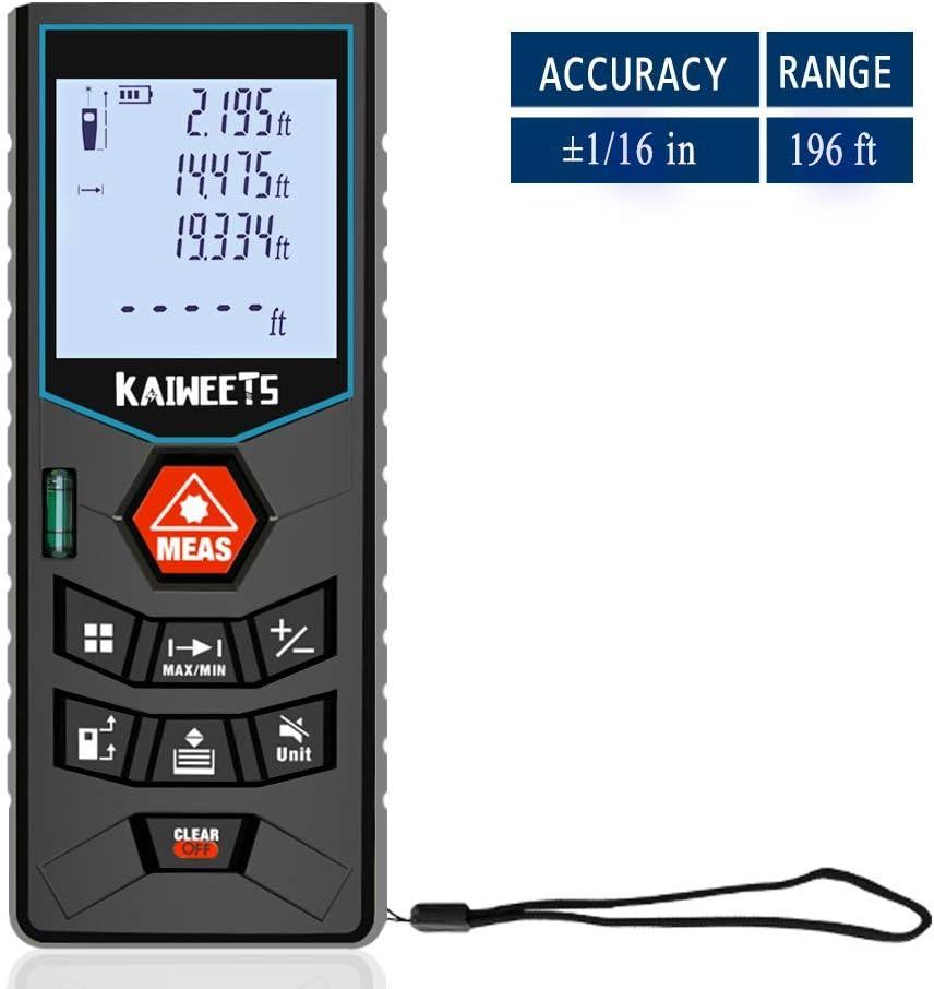 KAIWEETS Laser Measure