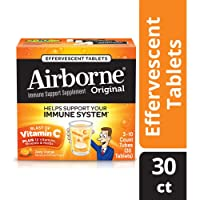 Deals on Airborne Vitamin C 1000mg Immune Support Supplement 30 Ct