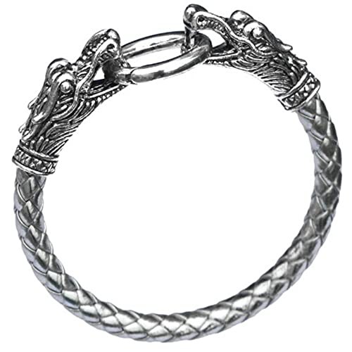 Bracciale vichingo argento
