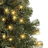 Best Choice Products 4.5ft Pre-Lit Spruce Hinged