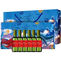 Ruoyufish 若虞 珍藏长相思干白葡萄酒 187.5ml*6 礼盒装(智利进口葡萄酒)(亚马逊自营商品, 由供应商配送)