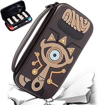 Lonme - Funda Protectora para Nintendo Switch, diseño de la Leyenda de Zelda Sheikah: Amazon.es: Equipaje