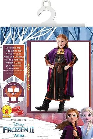 Frozen 2 Classic Disfraz Anna Travel, M, Multicolor, (RubieS ...