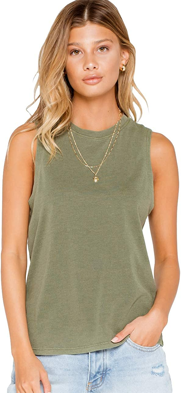 Rsq Essential Olive Muscle Tank