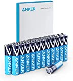 Anker Alkaline AAA Batteries (24-Pack), Long-Lasting & Leak-Proof with PowerLock Technology, High Capacity Triple A Batteries with Adaptive Power and Superior Safety (Non-Rechargeable)
