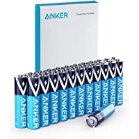 Anker Alkaline AAA Batteries (24-Pack), Long-Lasting & Leak-Proof with PowerLock Technology, High Capacity Triple A…