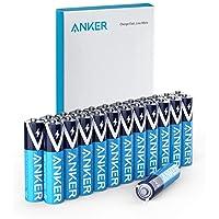 Anker Alkaline AAA Batteries (24-Pack), Long-Lasting & Leak-Proof with PowerLock...
