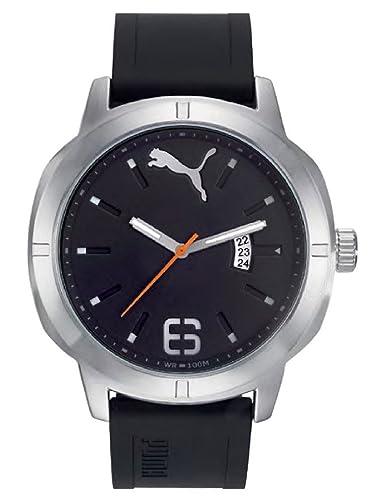 Puma Reloj Analógico para Hombre de Cuarzo con Correa en Plástico PU104261004: Amazon.es: Relojes
