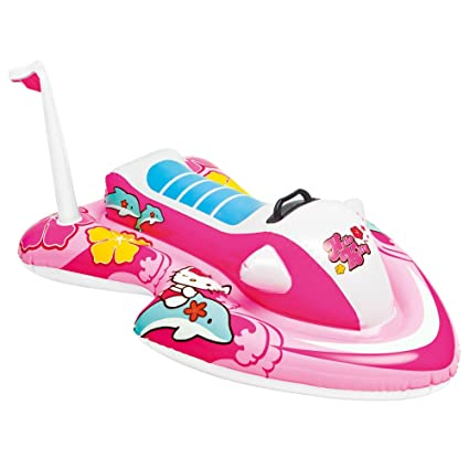 Amazon.com: Intex Hello Kitty Ride-On: Toys & Games