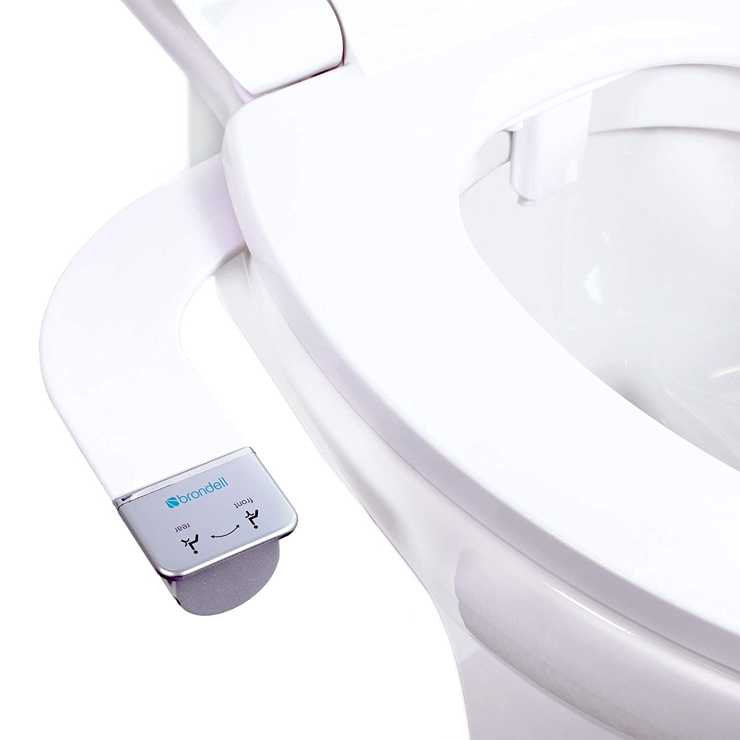 Brondell Bidet Thinline Dual Nozzle Simplespa Ss 250 Fresh Water