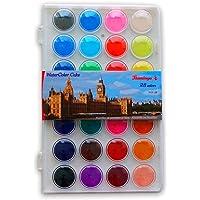 Watercolor Kids Paint 28 Colors Aquarelle paint Palette Ukr