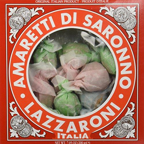 Biscuits Italian - Lazzaroni Amaretti Di Saronno, 7.05 Ounce