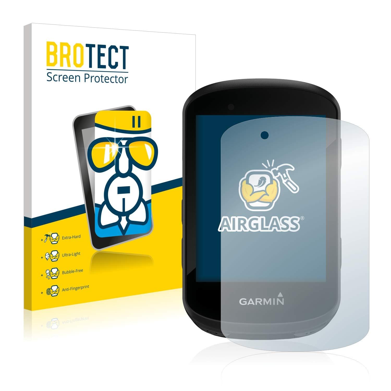 ultra-thin, extra-hard, high-Transparency, anti-fingerprint coating, flexible BROTECT AirGlass Glass Protector Screen Protector for Garmin Edge 530