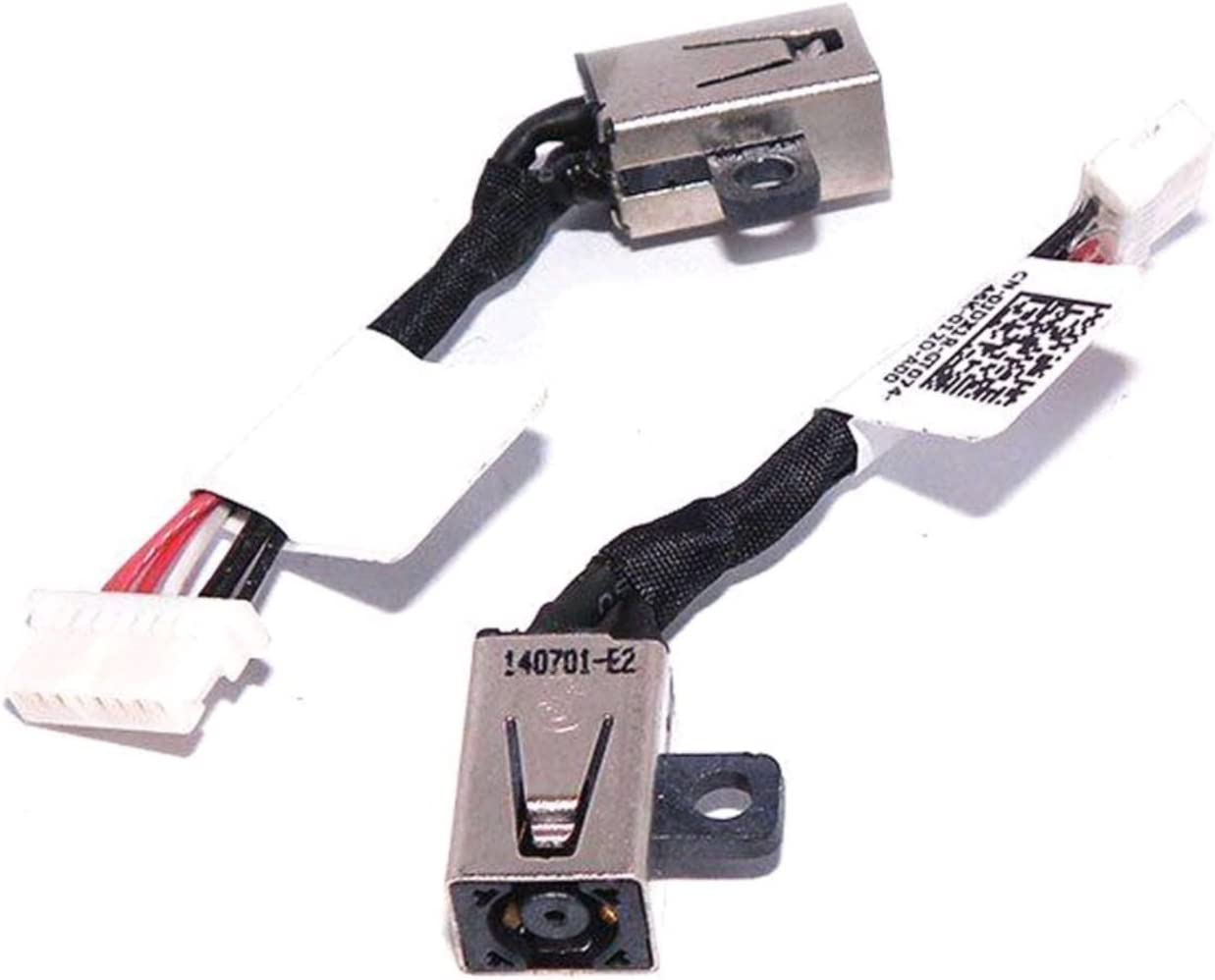 DC Power Jack Cable Replacement for Dell Inspiron 11-3148, 13-7347 13-7348 13-7352 P57G 13-7000 0JDX1R, Inspiron 13-5368, Inspiron 15-7558 7569 7579